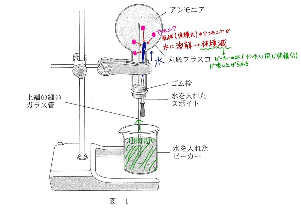 アンモニア・噴水の解説